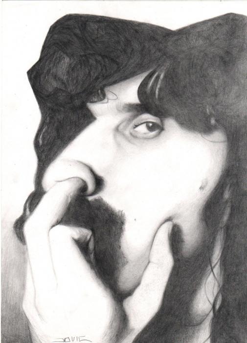Frank Zappa by jovic772